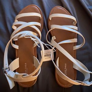 AE sandals fit large like 9/10
